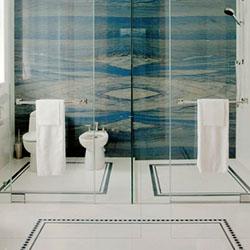 Стил арт деко в интериора на банята