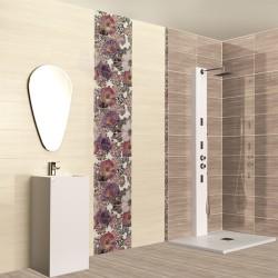 Плочки за баня с цветя от Ceramica Latina (Испания)