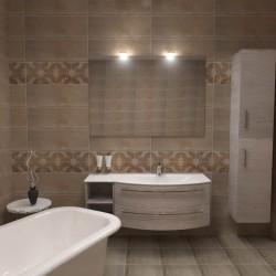 Прелестни плочки за баня от Keros (Испания)