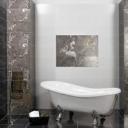Плочки за баня с дизайнерски детайли от Ceramica Latina (Испания)