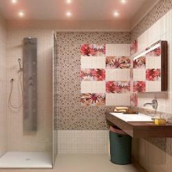 Mosaico crema серия - колекция плочки за баня от Keros (Испания)