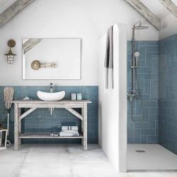 Декорирани плочки за баня от Roca (Испания)