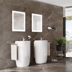 Гранитогрес с мраморен дизайн от Roca (Испания)