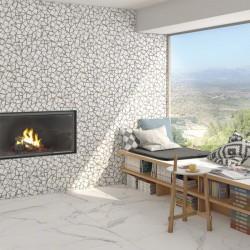 Гранитогрес с мраморен дизайн от Vives (Испания)