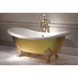 Златна вана за баня във флорентинска традиция от Devon&Devon (Италия)