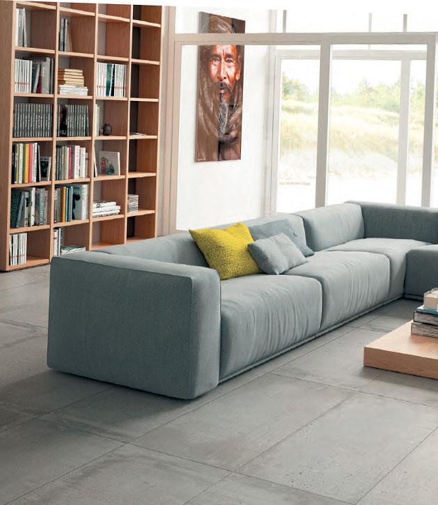 Гранитогрес с имитация на бетон - Aparici - Baffin-108