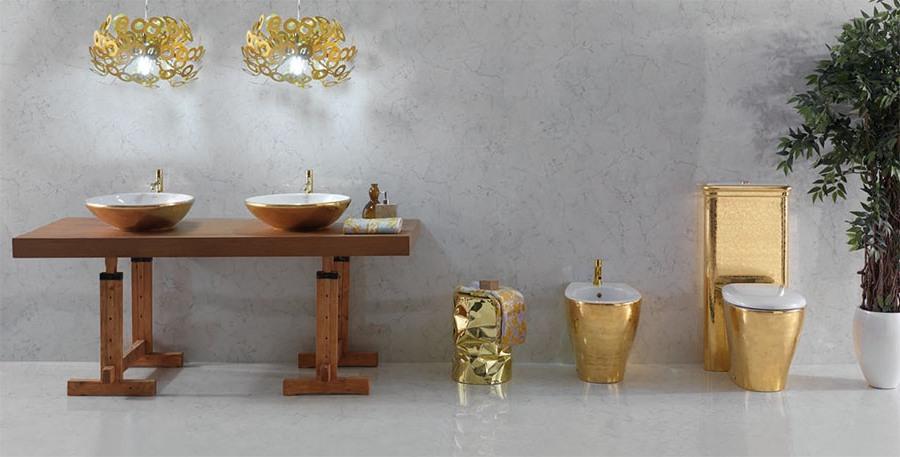 Първокласен фаянс за Баня от Ceramica Globo (Италия)