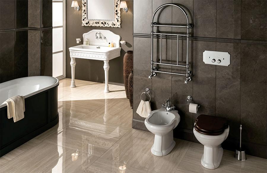 Ултра модерен фаянс за италианска естетика в банята от Gaia Mobili (Италия)