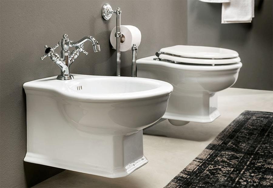 Шикозен фаянс за италианска естетика в банята от Gaia Mobili (Италия)