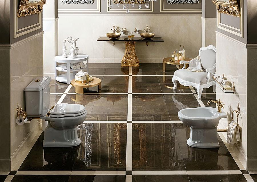 Невероятен фаянс за италианска естетика в банята от Gaia Mobili (Италия)