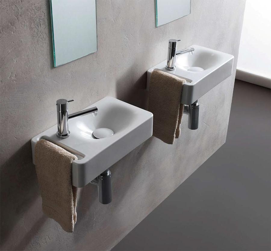 Креативен фаянс за баня от Scarabeo (Италия)