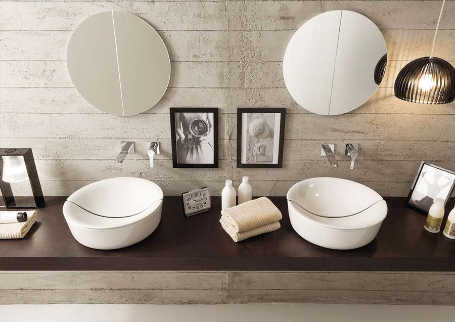 Универсален фаянс за баня от Scarabeo (Италия)