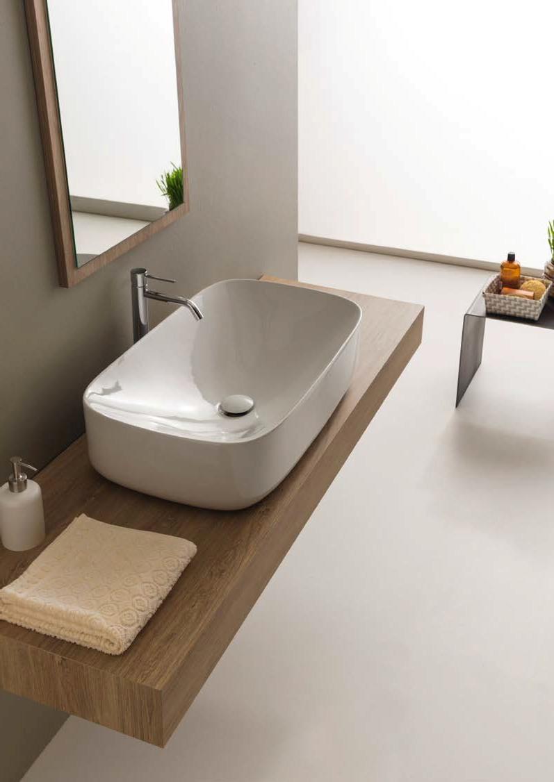 Иновативен фаянс за баня от Scarabeo (Италия)
