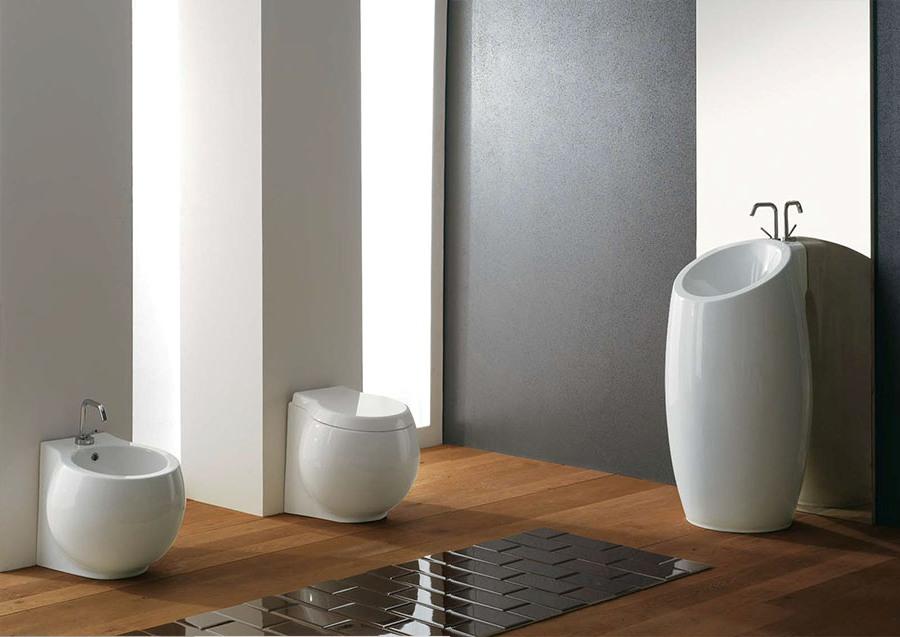 Перфектен фаянс за баня от Scarabeo (Италия)