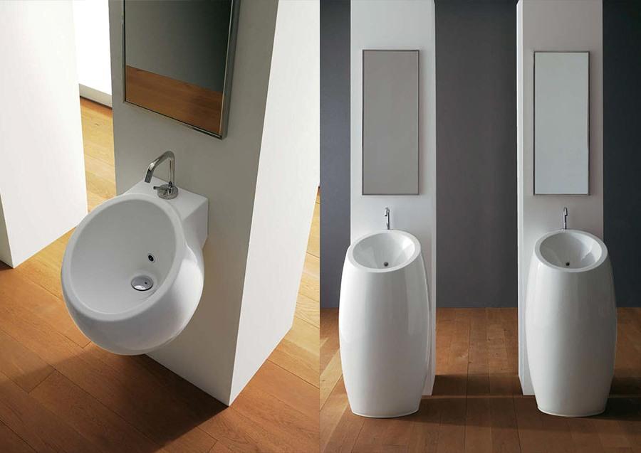 Многофункционален фаянс за баня от Scarabeo (Италия)