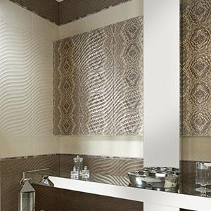 Деликатни плочки за баня от Aparici (Испания)