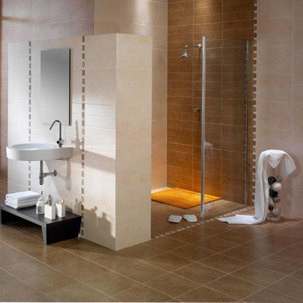 Високотехнологични плочки за баня от Aparici (Испания)