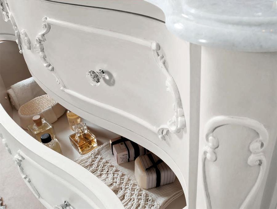 Естетични италиански мебели за баня от Gaia Mobili (Италия)