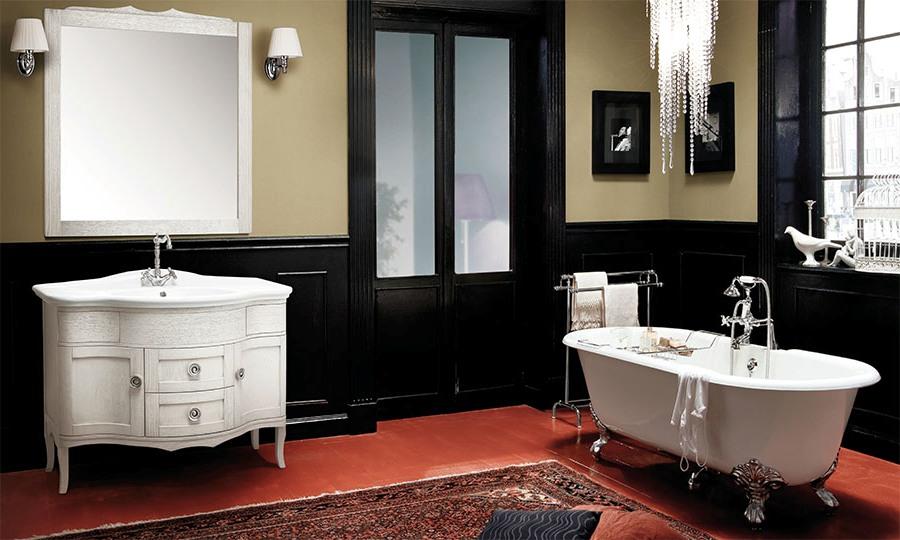 Неконвенционални италиански мебели за баня от Gaia Mobili (Италия)