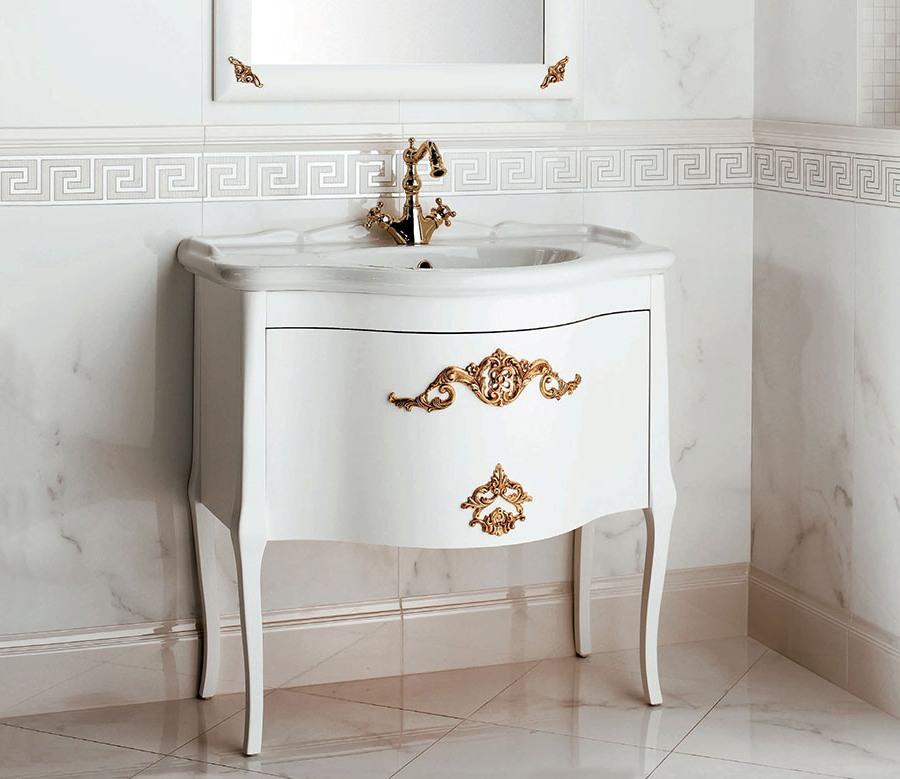 Стабилни италиански мебели за баня от Gaia Mobili (Италия)