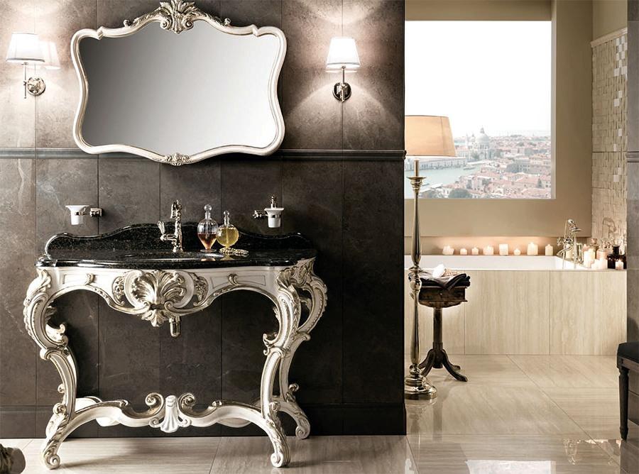 Невероятни италиански мебели за баня от Gaia Mobili (Италия)