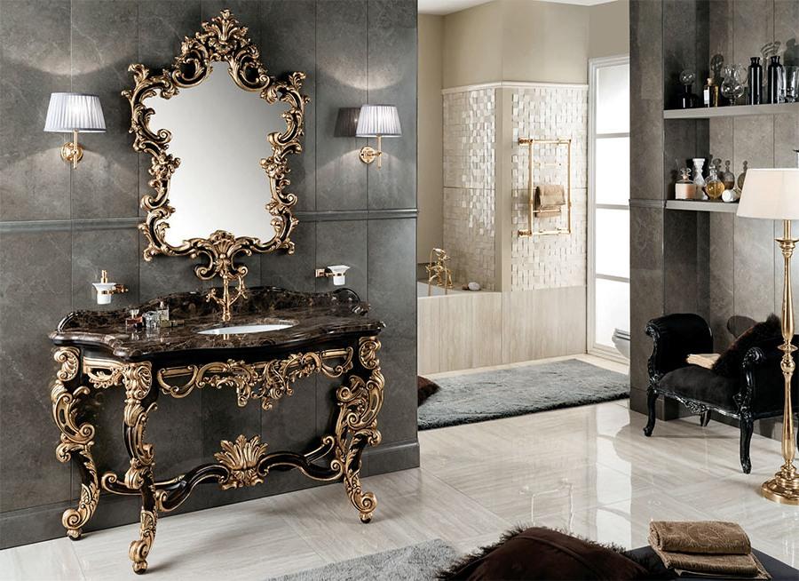 Устойчиви италиански мебели за баня от Gaia Mobili (Италия)