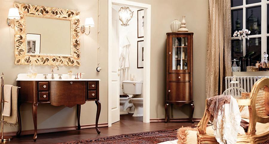 Класни италиански мебели за баня от Gaia Mobili (Италия)