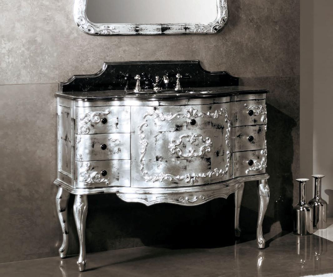 Нетрадиционни италиански мебели за баня от Gaia Mobili (Италия)