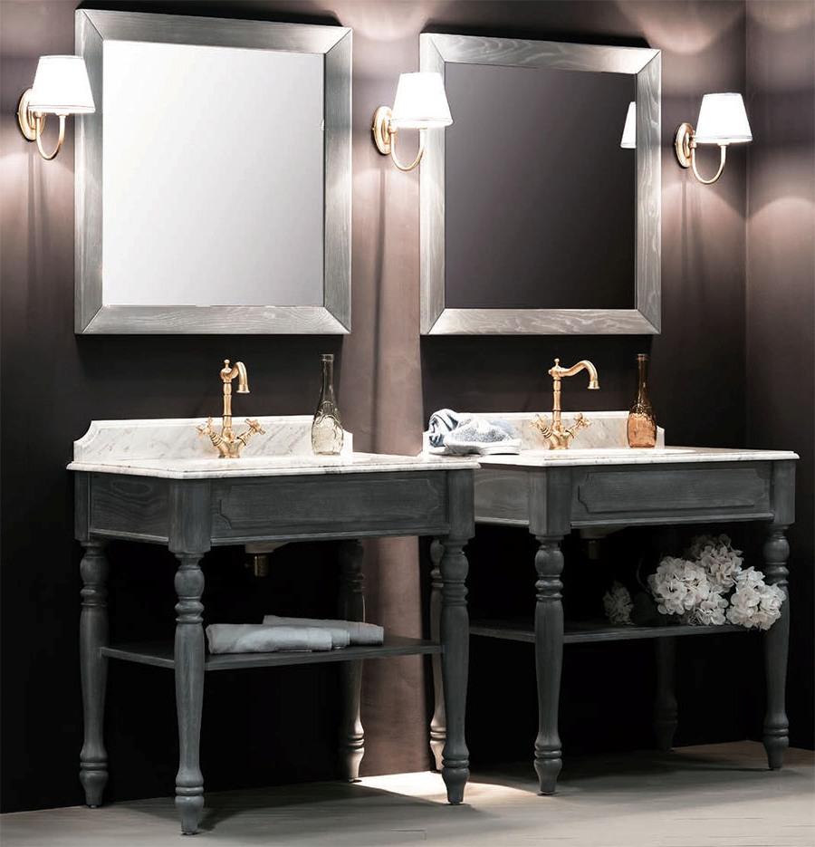 Висококачествени италиански мебели за баня от Gaia Mobili (Италия)