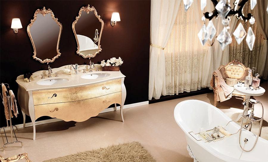 Дизайнерски италиански мебели за баня от Gaia Mobili (Италия)