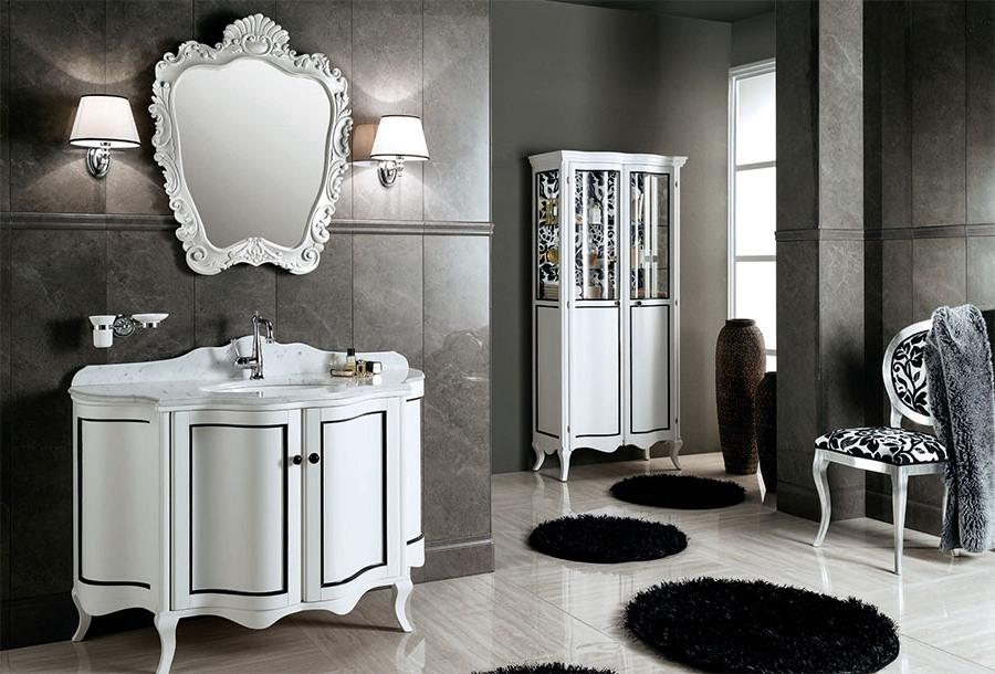Артистични италиански мебели за баня от Gaia Mobili (Италия)