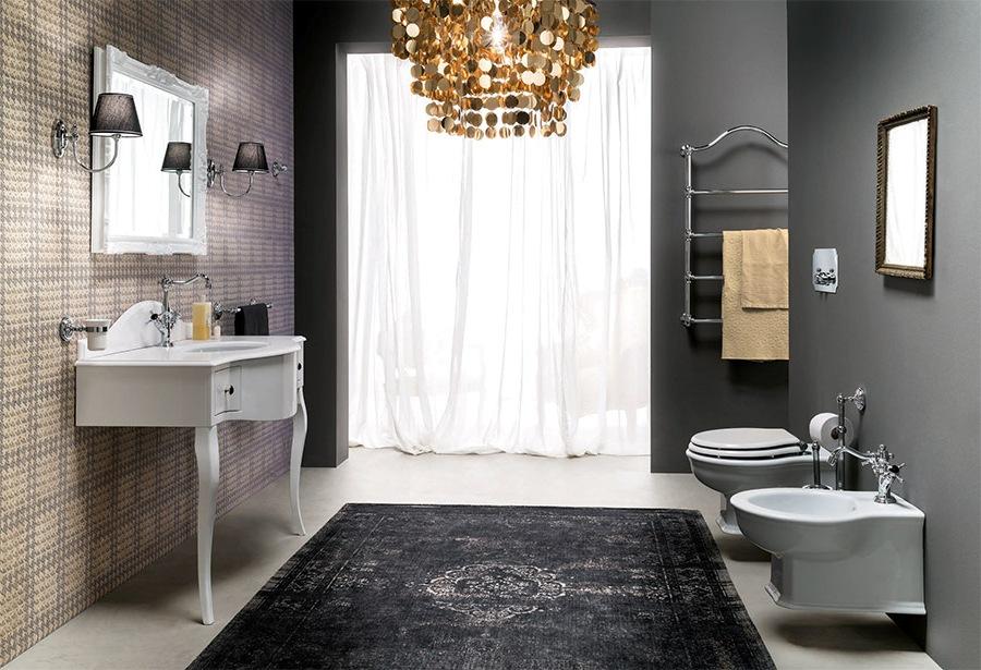 Мебели за баня в дома или офиса