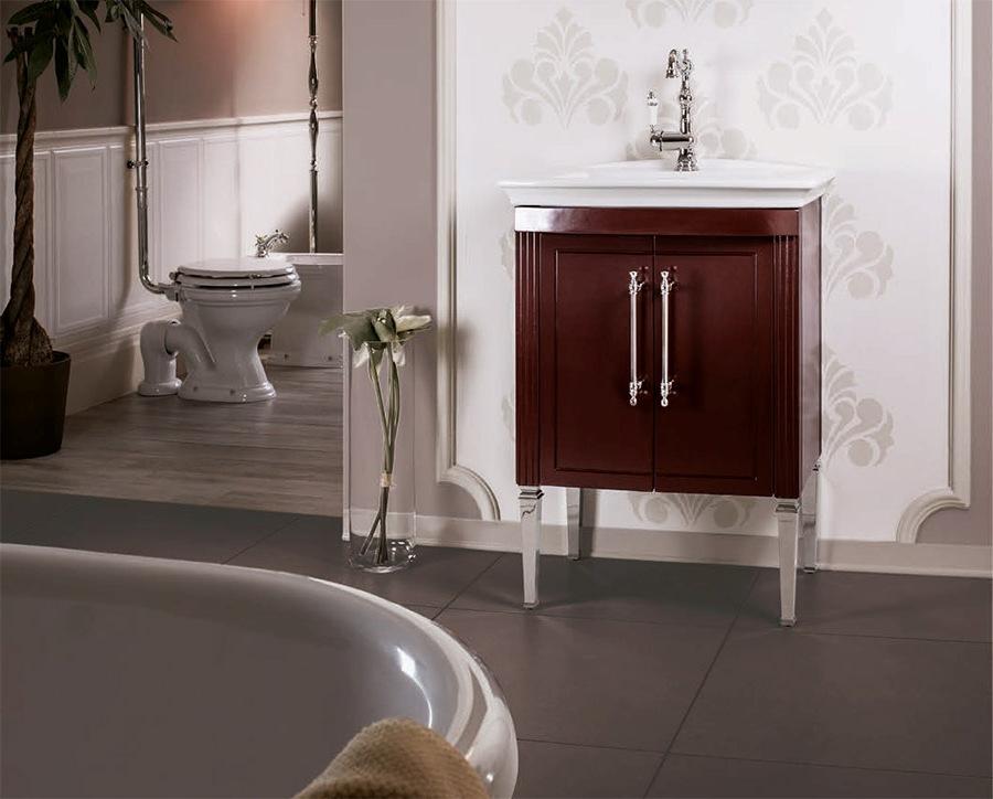 Дизайнерски мебели за артистична баня