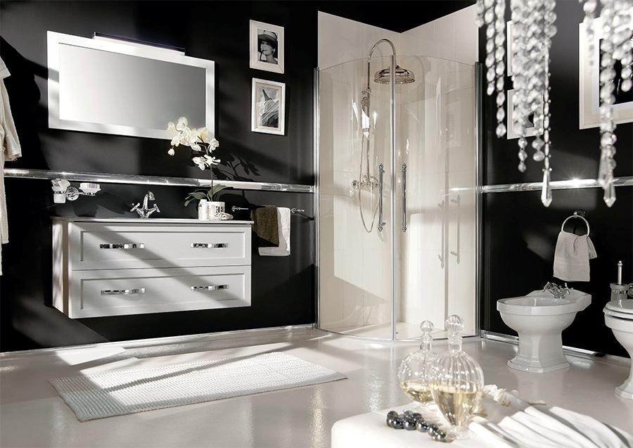 Дизайнерски мебели за баня в хотел