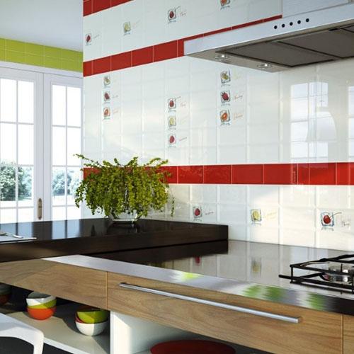 Освежаващи плочки за кухня от Monopole Ceramica (Испания)