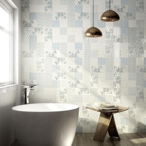 Динамични плочки за баня от Ragno (Италия)