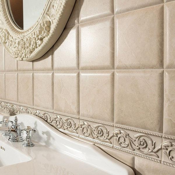 Грациозни плочки за баня от Vallelunga & Co. (Италия)