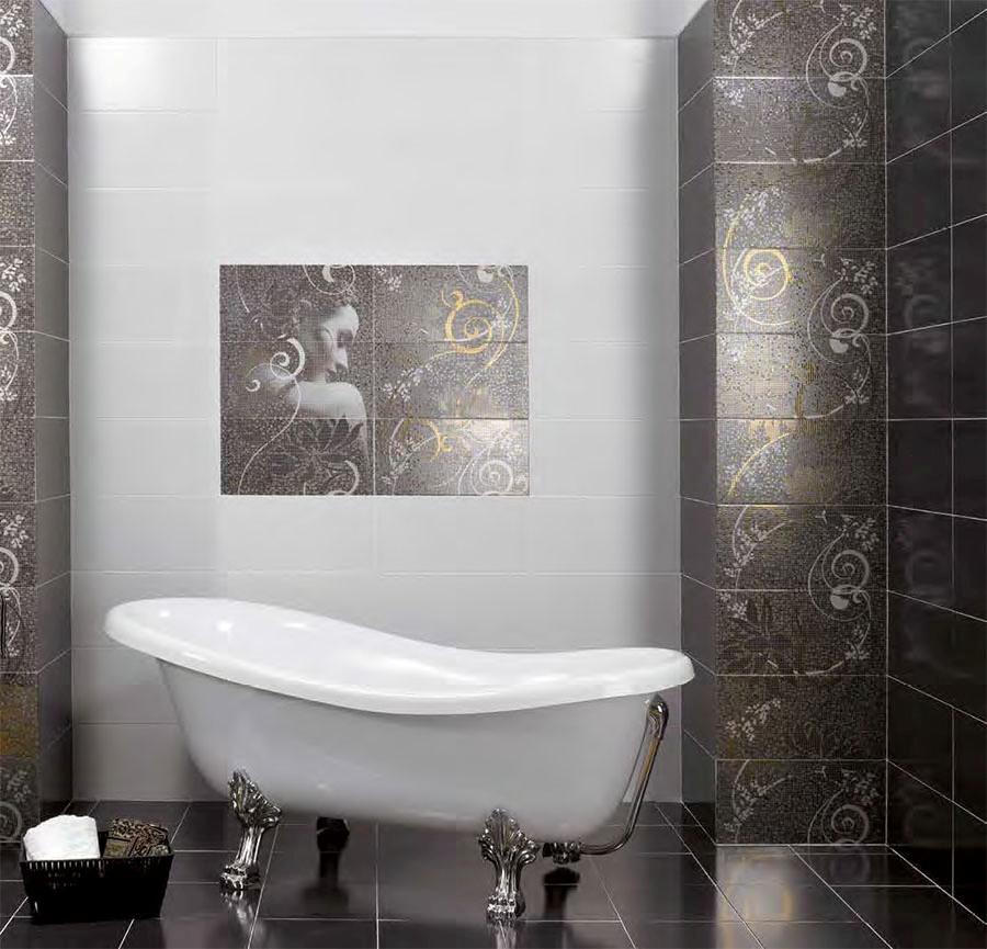 Атрактивни плочки за ефектна баня от Ceramica Latina (Испания)