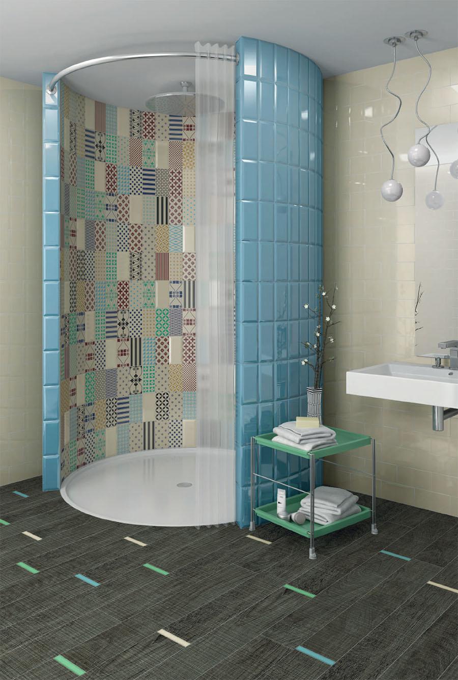 Великолепни испански плочки за баня от Vives (Испания)