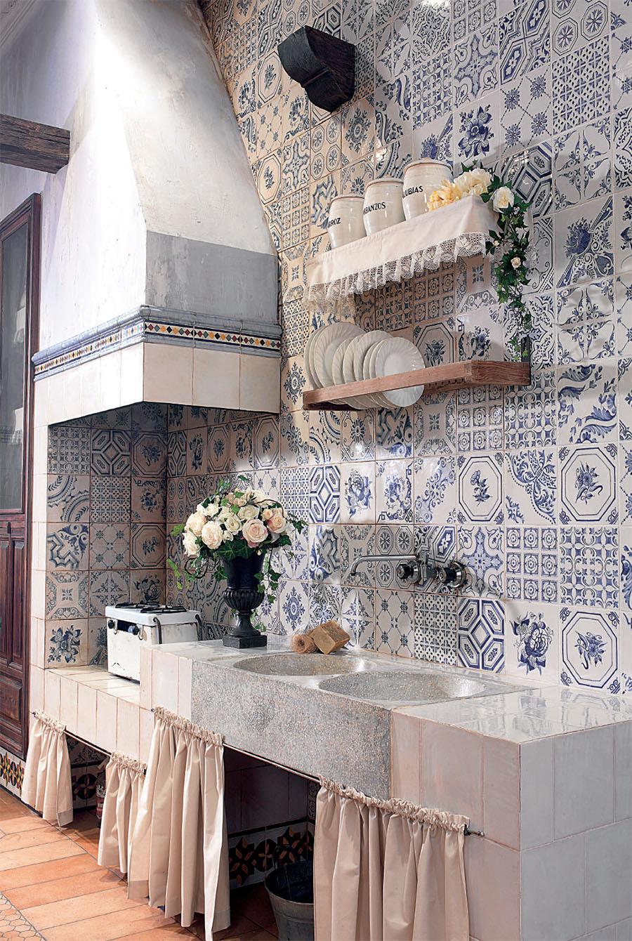 Автентични стенни плочки от Vives (Испания)