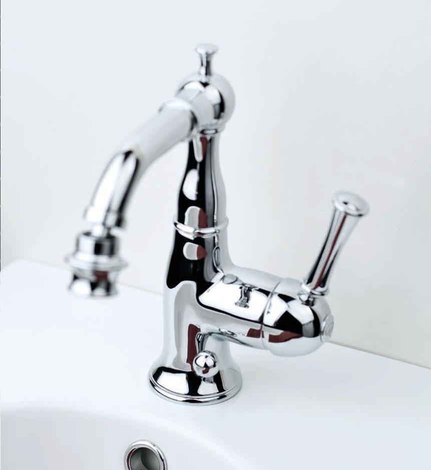 Изящни италиански смесители за баня от Gaia Mobili (Италия)