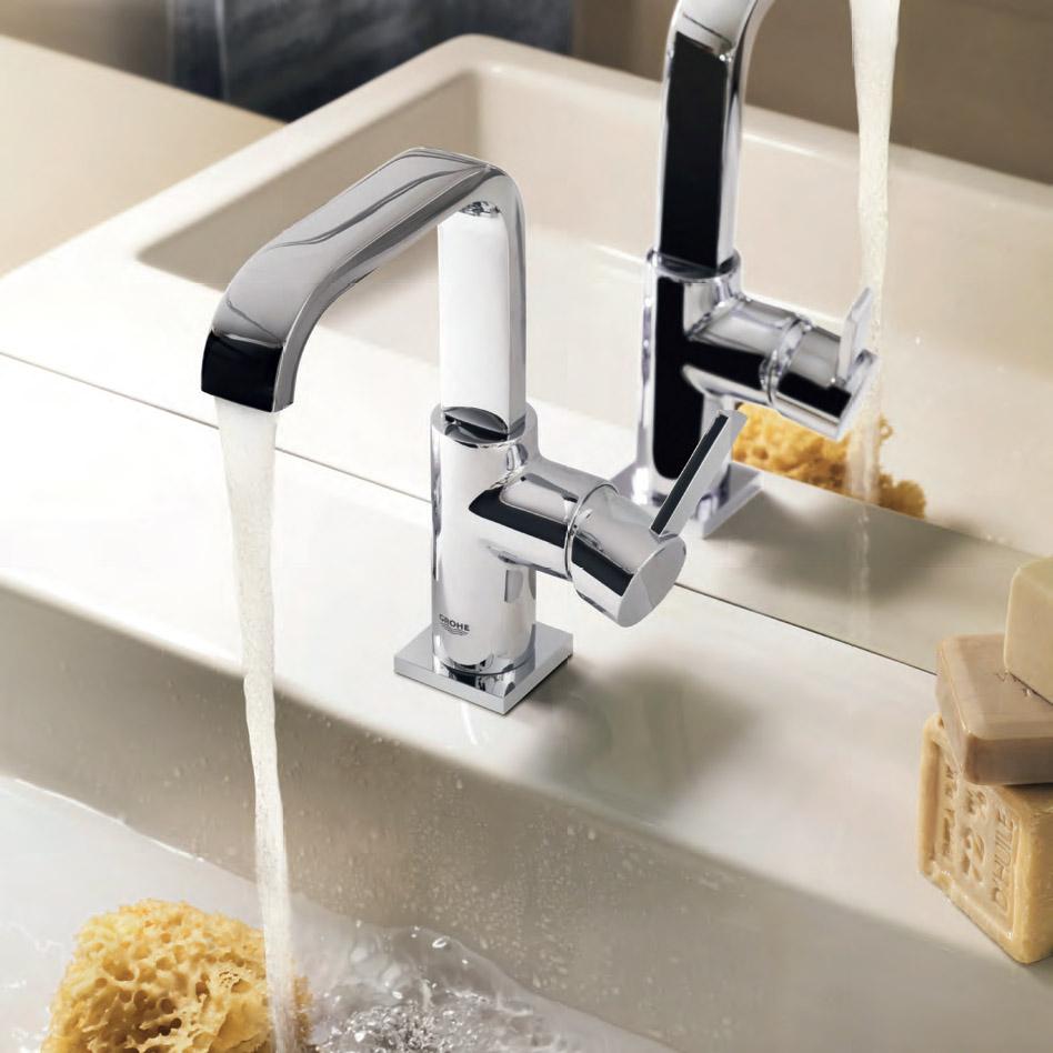 Функционални смесители за баня от Грое (Германия)