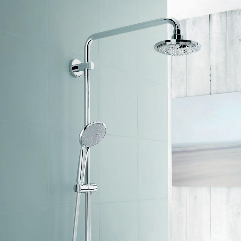 Красив душ за баня Грое