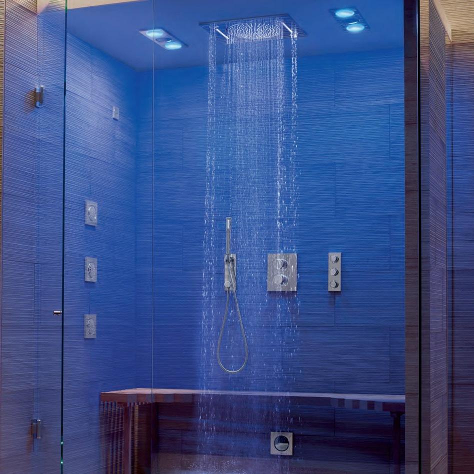 Изискан душ за баня Грое