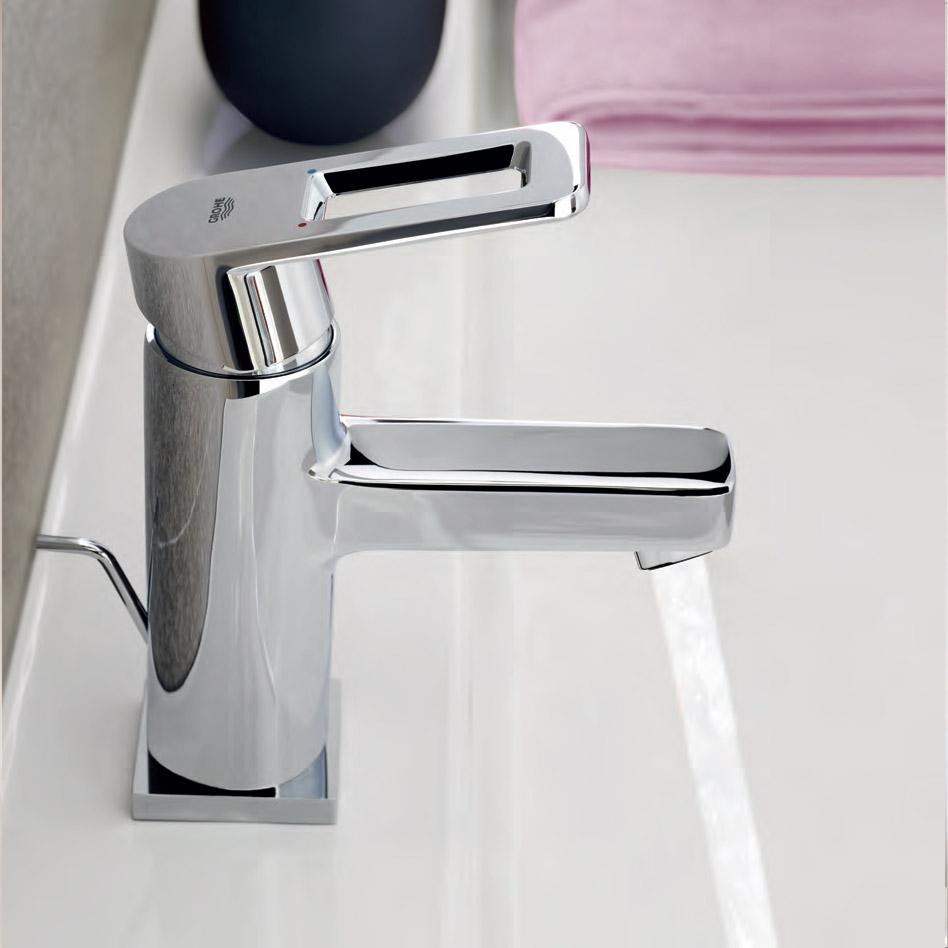 Ексцентрични смесители за баня от Грое (Германия)