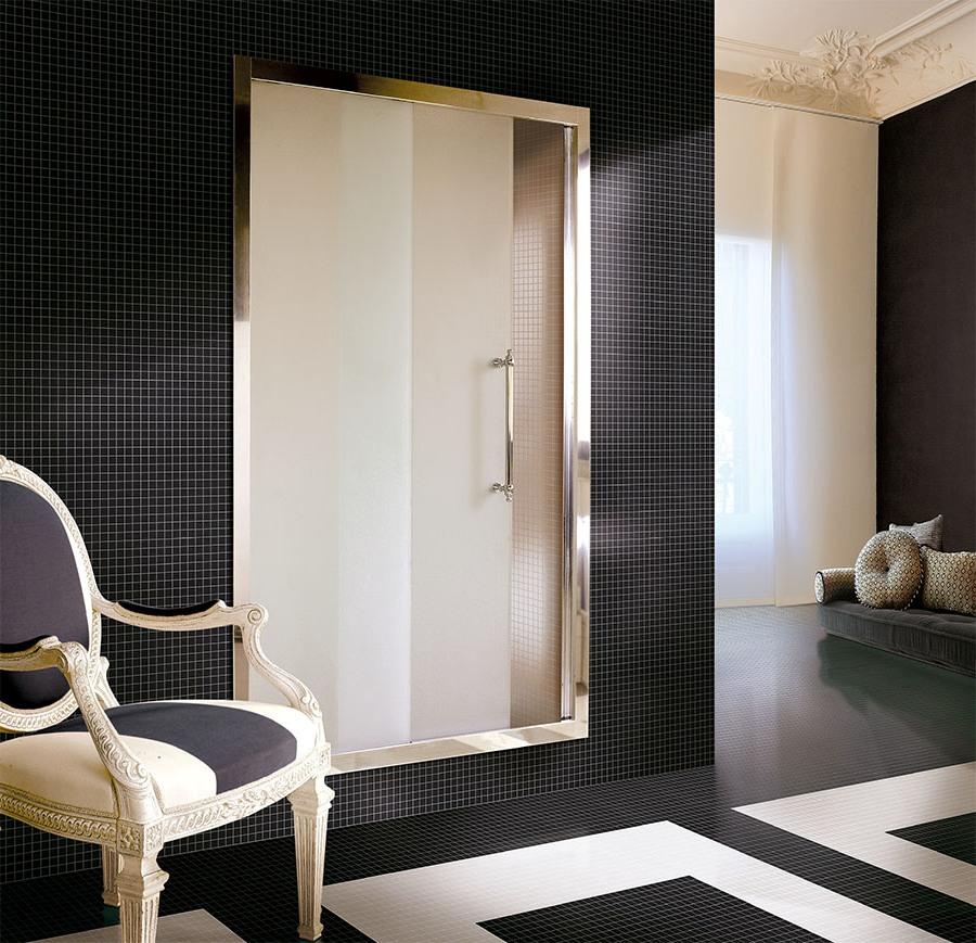 Класически паравани за ретро-вдъхновена баня от Devon&Devon (Италия)