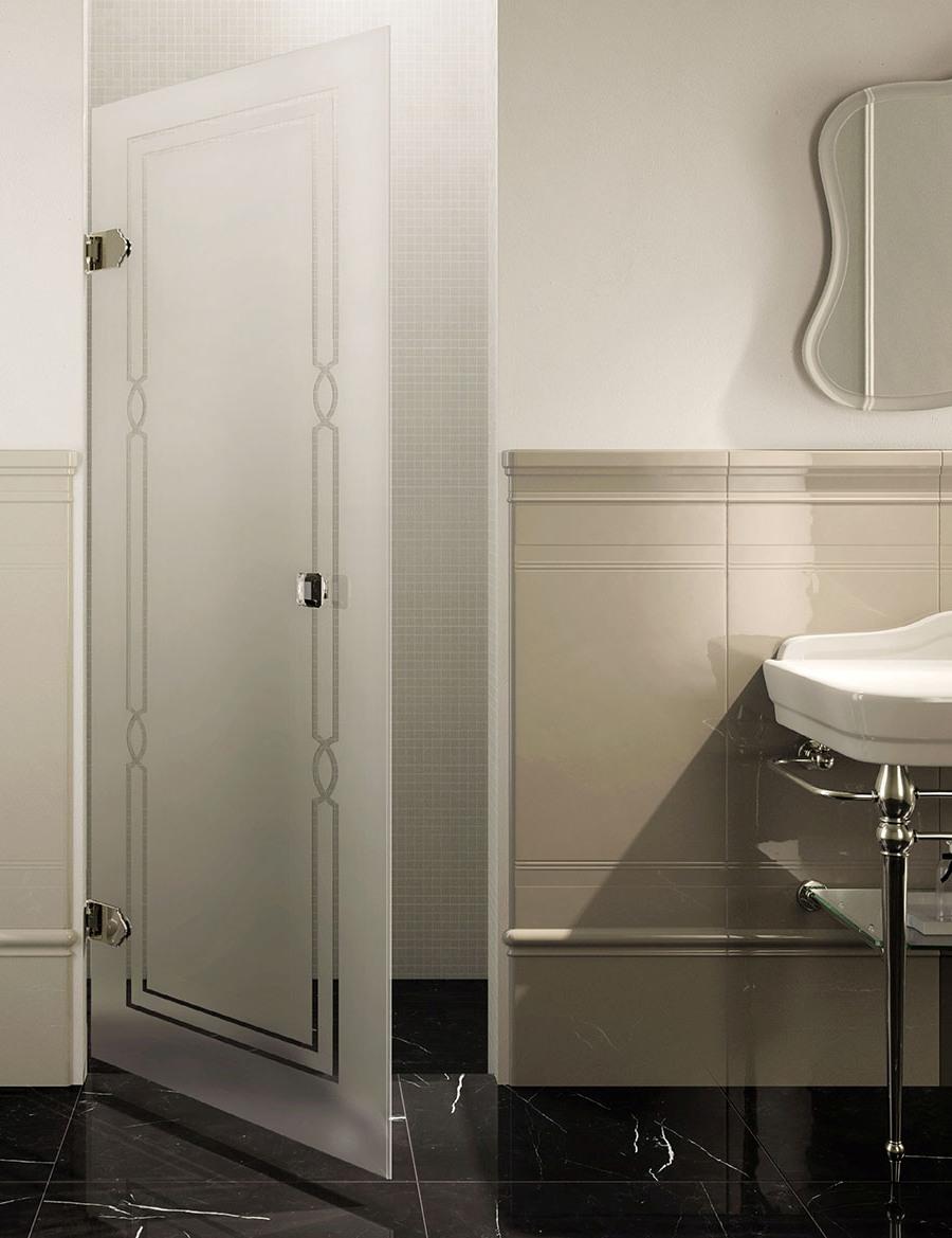 Ефектен паравани за баня в съвременен стил от Devon&Devon (Италия)