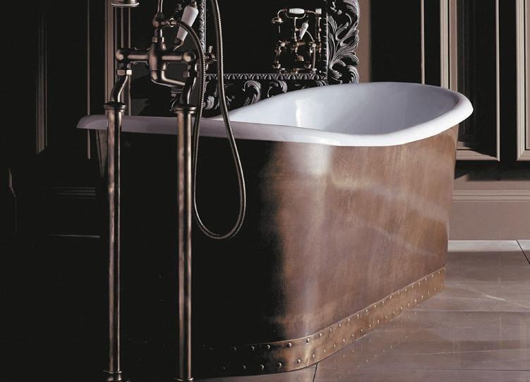 Невероятна вана в кехлибарен цвят от Devon&Devon (Италия)