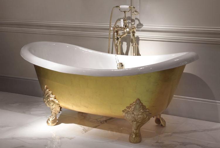 Стилна вана за баня - италианско обзавеждане за банята от Devon&Devon