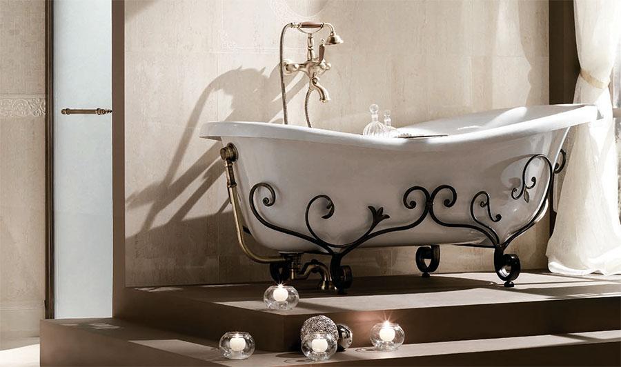 Тонизираща вана от Gaia Mobili (Италия)